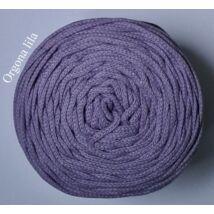 4 mm makramé - zsinórfonal - orgona lila –