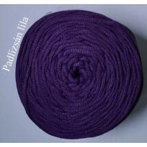 4 mm makramé - zsinórfonal - padlizsán lila –