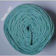 4 mm makramé - zsinórfonal - menta zöld –