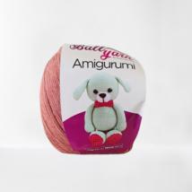 Tégla barna színű amigurumi fonal