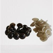 Biztonsági szem 10 mm - arany -, 5 pár