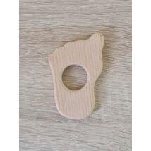 Fa lábikó rágóka 8,5 cm x 5 cm