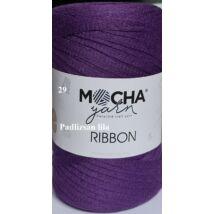Ribbon padlizsán lila színű szalagfonal