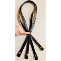 110 cm hosszú patentos táskafül - sötétkék -