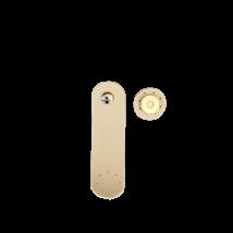 Krém táskapánt, mágneses záródással