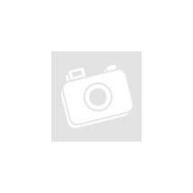 Fehér alapon piros-fekete mintázatú pólófonal