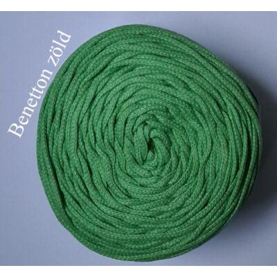 4 mm makramé - zsinórfonal - benetton zöld –