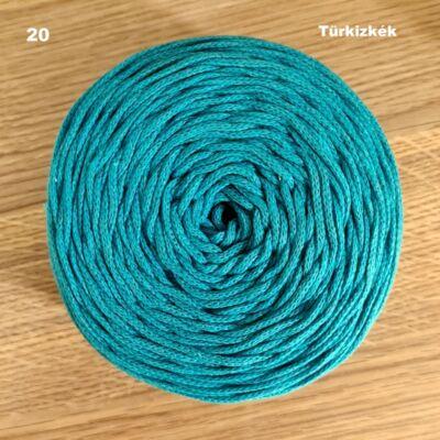 3 mm türkizkék színű zsinórfonal