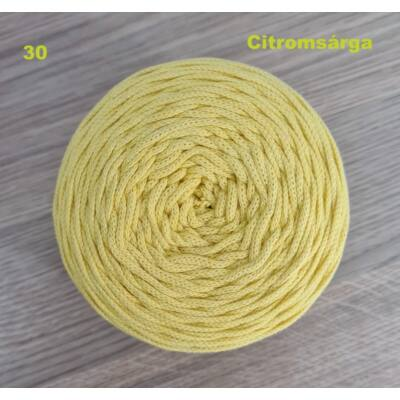 3 mm citromsárga színű zsinórfonal