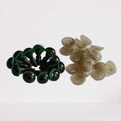 Ragasztós 10 mm szem mix színekben