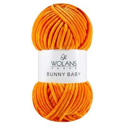Narancs színű Bunny Baby fonal
