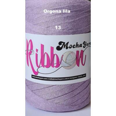 Ribbon orgona lila színű szalagfonal
