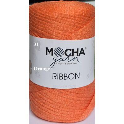 Ribbon orange színű szalagfonal