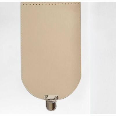 Táska fedél 31x18 cm - krém -