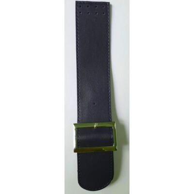25 cm hosszú, 4,5 cm széles csatos design táskapánt - matróz kék -