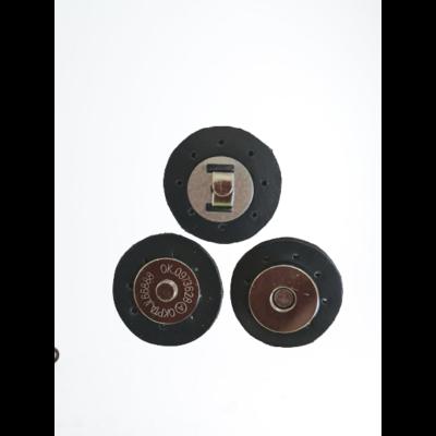 3 cm átmérővel rendelkező, felvarrható, mágneses patentos táskazár - sötét kék -